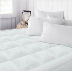 Beckham Hotel Collection Premium Microplush Mattress Pad - Hyp...