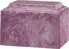 Large/Adult 225 Cubic In. Tuscany Purple Cultured Marble Crema...