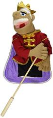 Melissa & Doug King Puppet With Detachable Wooden Rod for Anim...