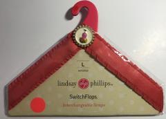 Lindsay Phillips SWITCHFLOPS Flip Flop Strap Pink Cocktail ARI...