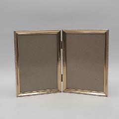 Vintage Goldtone Double Metal Picture Frame for 5 x 7