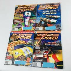 Nintendo Power Magazines Lot of 4 - Volumes 118, 119, 120, 122