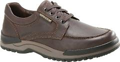 Mephisto Charles Walking Shoes (Men's) in Dark Brown Grizzly -...