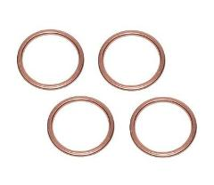Set Of 4 Kawasaki New K&L Exhaust Pipe Muffler Header Gasket 0...