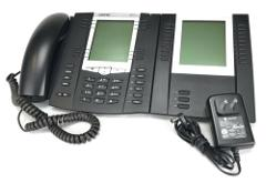 Aastra / Mitel 6757i IP VoIP SIP Phone with Aastra M675i Expan...