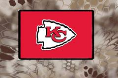 Kansas City Chiefs, Morale Patch, Hook and Loop, We Make Custo...