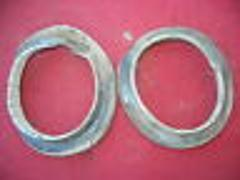 FRONT SUSPENSION SPRING RUBBER COVERS #2 1963 63 FIAT 1200