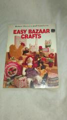 Better Homes & Gardens Easy Bazaar Crafts Hardcover Book