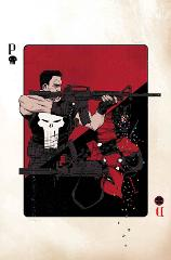 The Deadpool vs Punisher by SHALVEY Poster 24x36 Marvel