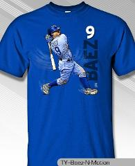 Chicago Cubs MLBPA JAVIER BAEZ #9 Baez N Motion Youth Boys Cot...