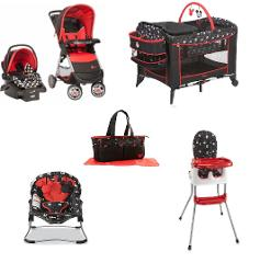 Disney Mickey Mouse Constellation Baby Gear Bundle Collection Set