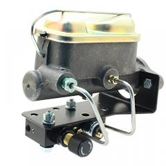 A-Team Performance Dual reservoir master cylinder KIT ford cor...