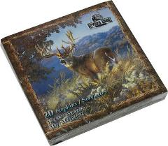 Deer Scene Napkins Package of 20 Paper 3 Ply Wild Animals New ...