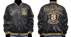 Prince Hall Mason Masonic jacket Prince Hall Black Satin Frat...