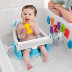 Baby Infant Safe Anti Slip Bath Tub Ring Seat Chair