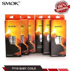 100% Original SMOK TFV8 Baby Coils V8 - T8/T6/X4/Q2/M2 Replace...