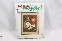 Xmas Sunset Needlepoint Faith 6095