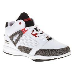 Fubu Mens Reed Basketball Shoe (Sie: 12, White)