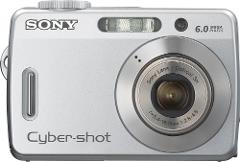 Sony Cybershot S500 6MP Digital Camera with 3x Optical Zoom (O...