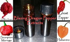 Organic Pepper Extract: Carolina Reaper/ Moruga Scorpion/ Ghos...