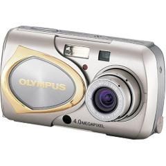 Olympus Stylus 410 4MP Digital Camera with 3x Optical Zoom