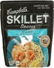 Campbell's, Skillet Sauces, Scampi with White Wine and Garlic,...