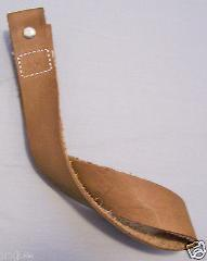 NON SLIP BROWN WHIP HOLDER Indiana Jones LEATHER WHIP HOLSTER,...