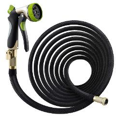 Nifty Grower 100ft Garden Hose - All New Expandable Water Hose