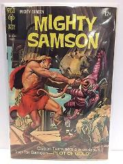 Mighty Samson #15 Comic Book Gold Key 1968