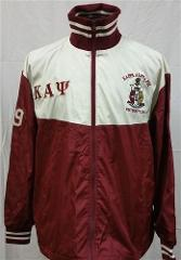 Kappa Alpha Psi Fraternity Track Jacket Red Kappa Alpaha Psi T...