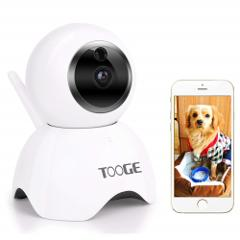 TOOGE Pet Camera, Dog Camera FHD Pet Monitor Indoor Cat Camera...