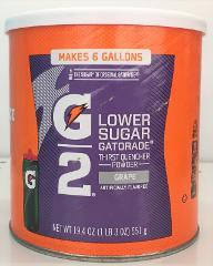 Gatorade Grape Perform G2 02 Perform Thirst Quencher Instant P...
