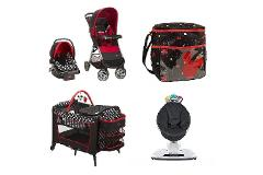 Disney Mickey Mouse Baby Gear Bundle,Stroller Travel System,Pl...