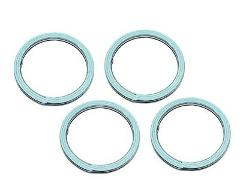Set Of 4 Suzuki New K&L Exhaust Pipe Muffler Header Gasket 013...