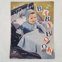 Hand Knits Beehive Baby Booklet 143 Vintage 1950 Blankets Swea...