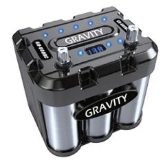 GRAVITY 600 AMP CAR BATTERY HIGH POWER STORAGE CAPACITOR GR-600BC