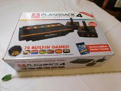 Atari Flashback 4 Launch Edition Black Console Asteroids POSTE...