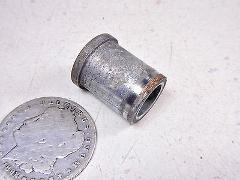 82 KAWASAKI KZ550 LTD RIGHT SIDE FRONT AXLE SHAFT SPINDLE BOLT...