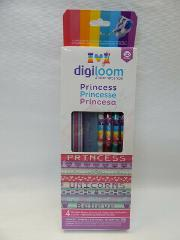 New Digiloom PRINCESS Theme Kit Bracelets Refill WowWee Digiba...