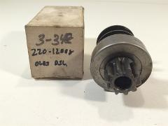 Marc's One 3-348 J&N 220-12008 Rebuilt Starter Drive Delco 15M...