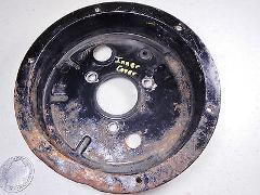 84 SUZUKI LT185 QUADRUNNER 2X4 REAR BRAKE DRUM INNER COVER