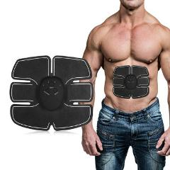 ABS Abdominal Muscle Stimulator Exerciser Toner Fitness Traine...