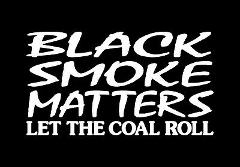 2 DIESEL DECALS BLACK SMOKE MATTERS LET THE COAL ROLL BIG RIG ...