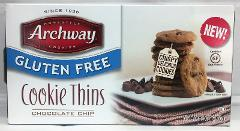 Archway Gluten Free Chocolate Chip Cookie Thins 6 oz