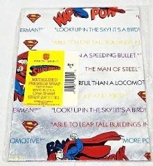 American Greetings DC Comics Superman Metallized Gift Wrapping...