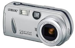 Sony DSCP52 Cyber-shot 3.2MP Digital Camera w/ 2x Optical Zoom
