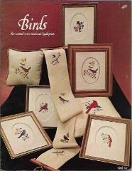 Birds for Counted Cross Stitch & Needlepoint Book Six Busy Han...
