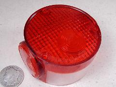 1974 YAMAHA RD60 TAILLIGHT TAIL LIGHT LAMP LENS