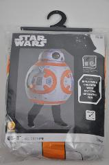 New Rubies STAR WARS BB8 INFLATABLE w/fan Child Costume 5-7 Yr...