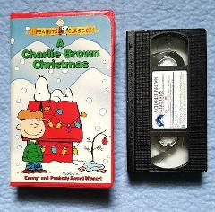 Peanuts Classic, A Charlie Brown Christmas VHS Tapes 1996